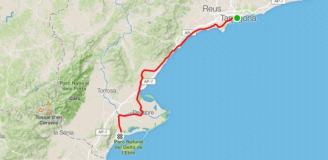 13° Giorno da Tarragona a Sant Carles de la Ràpita