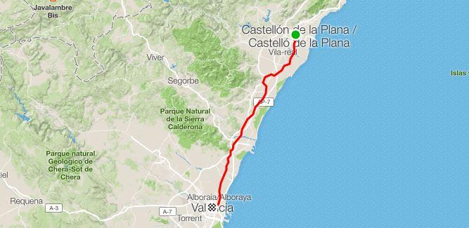 15° Giorno da Castellón de la Plana a Valencia