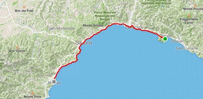 2° Giorno da Santa Margherita Ligure a Albenga